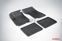 Ковры резиновые (сетка) Seintex для HAFEI PRINCIP 2006- (цвет Черный)