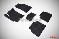 Ковры резиновые (сетка) Seintex для Hyundai ELANTRA (XD) Тагаз 2008- (цвет Черный)