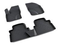 Ковры полиуретановые AGATEK для Ford Kuga 2013- черные