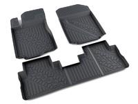 Ковры полиуретановые AGATEK для Honda CRV 2012- черные