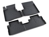 Ковры полиуретановые AGATEK для Honda CRV 2007- черные