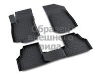Ковры полиуретановые AGATEK для Jeep Wrangler Unlimited 2011- черные
