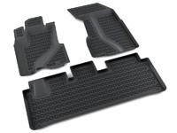 Ковры полиуретановые AGATEK для Honda CRV 2002-2007 черные