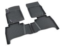 Ковры полиуретановые AGATEK для Lexus LX 2008- черные