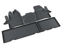 Ковры полиуретановые AGATEK для Ford Tourneo Custom 2011- черные