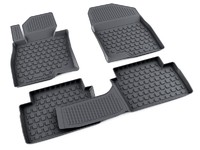 Ковры полиуретановые AGATEK для Mazda 3 2013- черные