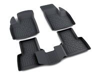 Ковры полиуретановые AGATEK для Fiat Doblo 2007- черные