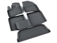 Ковры полиуретановые AGATEK для Ford Explorer 2011- черные