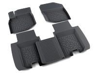 Ковры полиуретановые AGATEK для Honda Jazz 2008- черные