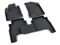 Ковры полиуретановые AGATEK для Hyundai Santa Fe 2009-2012 черные