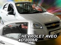 Дефлекторы окон вставные Heko для Chevrolet Aveo 2008- Sedan 4D к-т (4шт.)