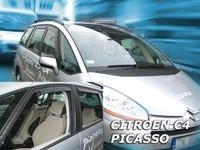 Дефлекторы окон вставные Heko для Citroen C4 2007- 5D к-т (4шт.)