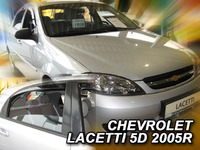 Дефлекторы окон вставные Heko для Chevrolet Lacetti 2003- Hethbek 5D к-т (4шт.)