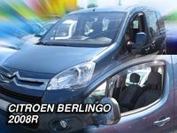 Дефлекторы окон вставные Heko для Citroen Berlingo 2008- 2D к-т (2шт.)