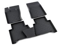 Ковры полиуретановые AGATEK для KIA Mohave 2008- черные