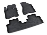 Ковры полиуретановые AGATEK для KIA Sportage 2004-2010 черные