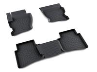 Ковры полиуретановые AGATEK для Land Rover Discovery 2004- черные