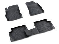 Ковры полиуретановые AGATEK для Mazda 2 2006- черные