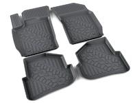 Ковры полиуретановые AGATEK для Audi A1 2001- черные