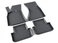 Ковры полиуретановые AGATEK для Audi A4 2008- черные