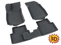 Ковры полиуретановые AGATEK для Chevrolet Aveo 2011- черные