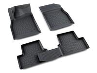 Ковры полиуретановые AGATEK для Chevrolet Cruze 2009- черные
