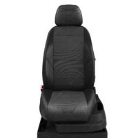 Авточехлы для Audi A3 8V с 2013-н.в. седан, хэтчбек 4-5 дверей. Задние спинка 40 на 60, сиденье единое, (так же подходит на спинку 40 на 20 на 40), 5 подголовников, передний подлокотник, БЕЗ заднего подлокотника  КК-8. Середина: жаккард квадрат. Боковины: чёрная экокожа. Спинка: чёрная экокожа.