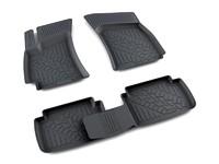 Ковры полиуретановые AGATEK для Chevrolet Lanos 2006- черные