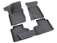 Ковры полиуретановые AGATEK для Chevrolet Niva 2009- черные
