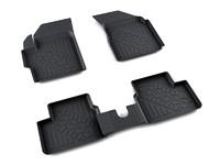 Ковры полиуретановые AGATEK для Daewoo Matiz 1998- черные