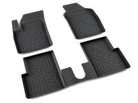 Ковры полиуретановые AGATEK для Fiat 500 2007- черные