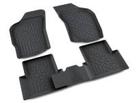 Ковры полиуретановые AGATEK для Fiat Albea 2003- черные