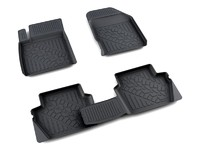 Ковры полиуретановые AGATEK для Ford Fiesta 2008- черные