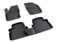 Ковры полиуретановые AGATEK для Ford Kuga 2008- черные
