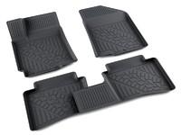 Ковры полиуретановые AGATEK для Hyundai Accent 2010- черные