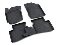 Ковры полиуретановые AGATEK для KIA Cerato 2009- черные