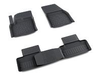 Ковры полиуретановые AGATEK для Land Rover Evoque 2008- черные