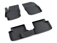 Ковры полиуретановые AGATEK для Mazda 3 2009- черные