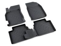 Ковры полиуретановые AGATEK для Mazda 6 2007- черные