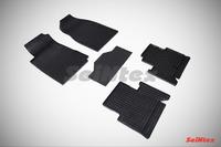 Ковры резиновые (сетка) Seintex для Chevrolet TRAIL BLAZER II 2012- (цвет Черный)
