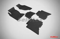 Ковры резиновые (сетка) Seintex для Great Wall HOVER H5 TDA 2010- (цвет Черный)