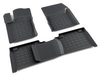 Ковры полиуретановые AGATEK для Jeep Grand Cherokee2010- черные