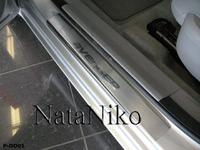 Накладки порогов Premium Natanika для Dodge AVENGER 2007- P-DO01 (4 шт.)