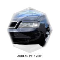 Реснички на фары CarlSteelman для Audi A6 1997-2004