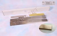 Накладки порогов Standart Natanika для Chery BEAT 2011- PS-CR07 (4 шт.)
