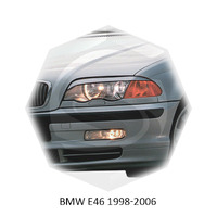 Реснички на фары CarlSteelman для Audi E46 1998-2001 седан