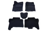 Ковры 3D ворсовые Boratex для Lexus GX460 2009-2012 (цвет темно-серый)