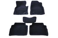 Ковры 3D ворсовые Boratex для Mazda CX-5 2012- (цвет Серый)