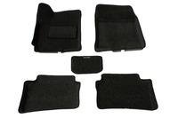 Ковры 3D ворсовые Boratex для Hyundai Accent 2010- (цвет Серый)