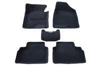 Ковры 3D ворсовые Boratex для KIA Ceed 2012- (цвет Серый)